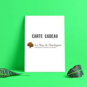 Carte cadeau - Mas de Dardagna